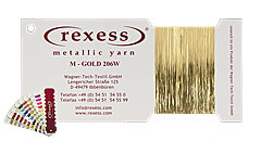 Metallic Garn GOLD 206W