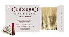 Metallic Garn GOLD 204