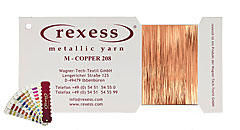 Metallic Garn COPPER 208