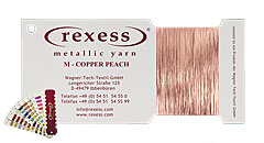 Metallic Garn COPPER PEACH