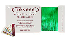 Metallic Garn GREEN GRASS